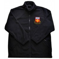 Premium Full Zip Micro Fleece Jacket met OVVKNR logo